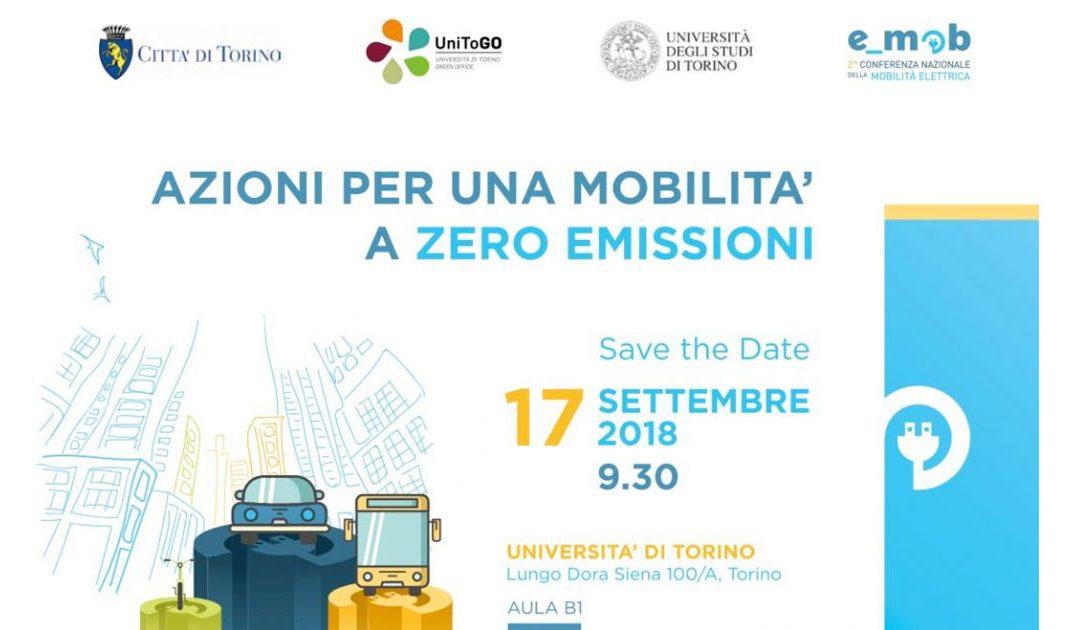 Torino verso #emob2018 – azioni per una mobilità a zero emissioni