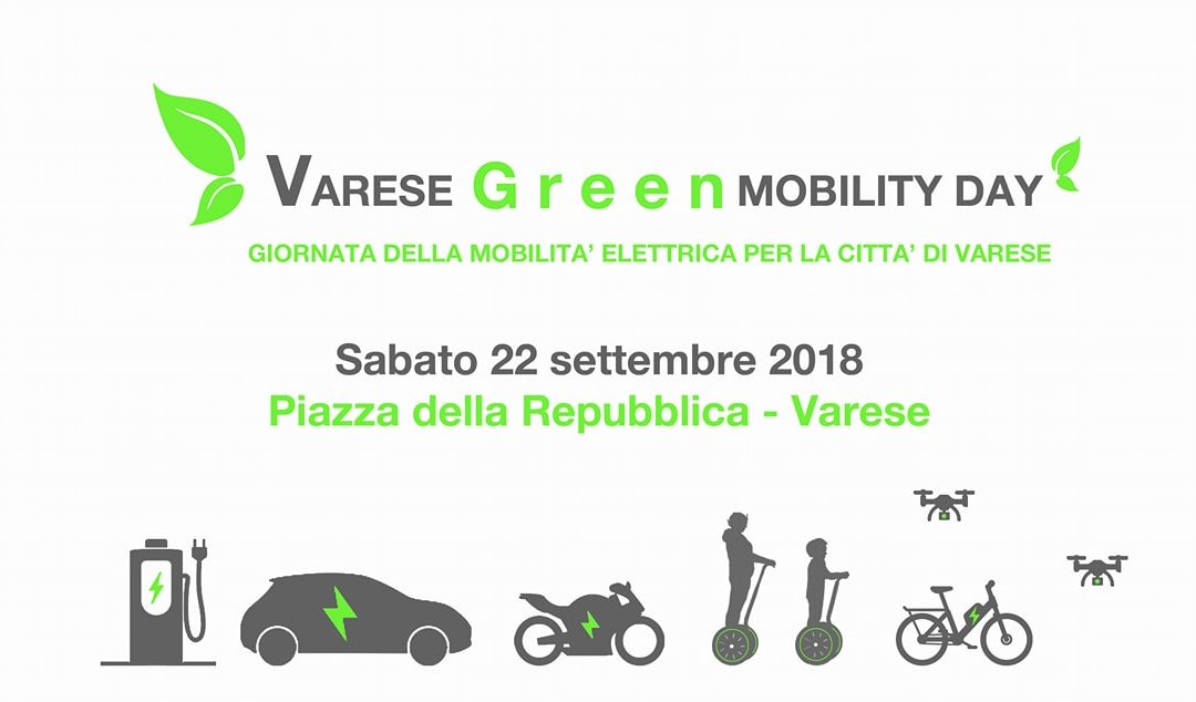 Varese Green Mobility Day 22 Settembre 2018