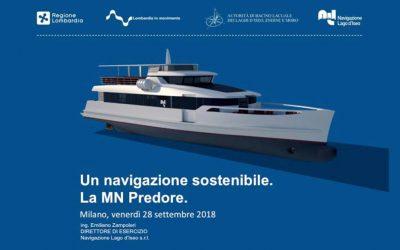 La MN Predore: un navigazione sostenibile