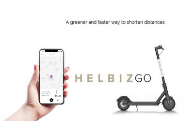HELBIZ: a greener and faster way to shorten distances