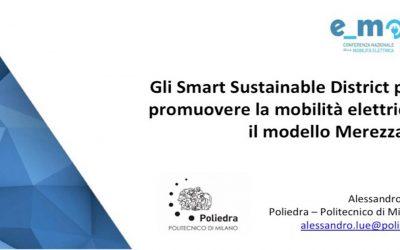 Gli Smart Sustainable District per promuovere la mobilità elettrica: il modello Merezzate