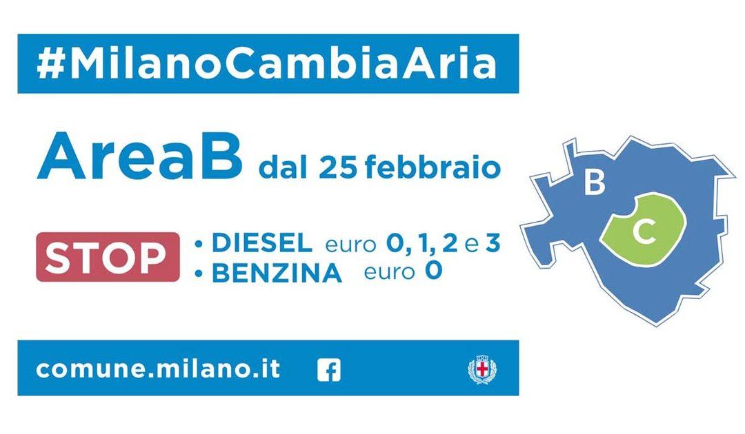 Area B: #MilanoCambiaAria