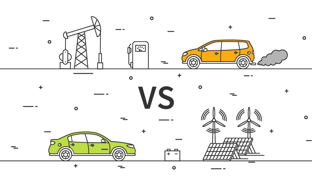 Auto elettriche e auto tradizionali a confronto