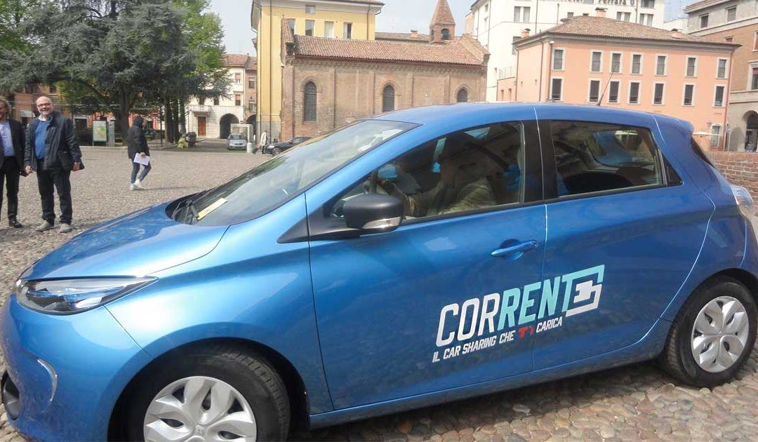 "Arriva a Ferrara ""Corrente"", il car sharing elettrico"