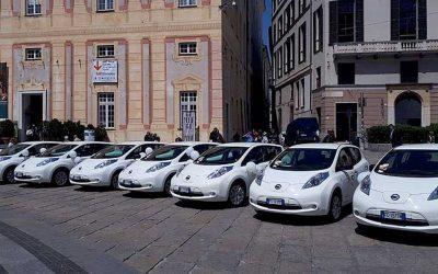 Genova mette la spina al car sharing