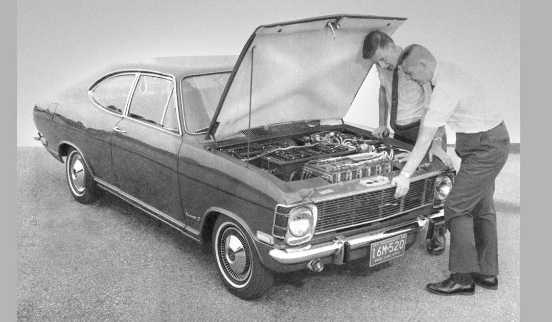 La storia elettrica di Opel