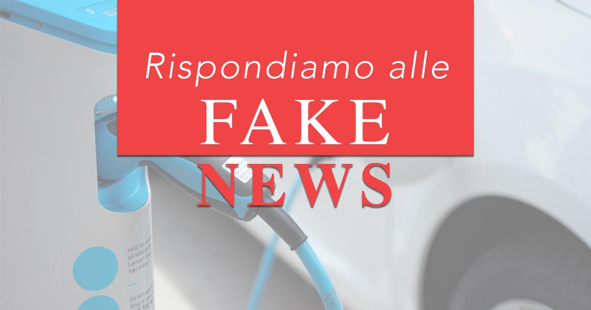 Fake news Mobilità Elettrica