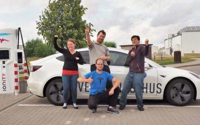 2.781 km in 24 ore, il nuovo record per l'auto elettrica