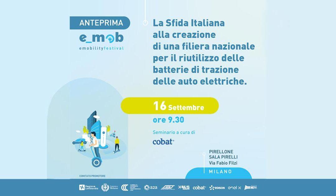 La sfida italiana alla creazione di una filiera per il riutilizzo delle batterie