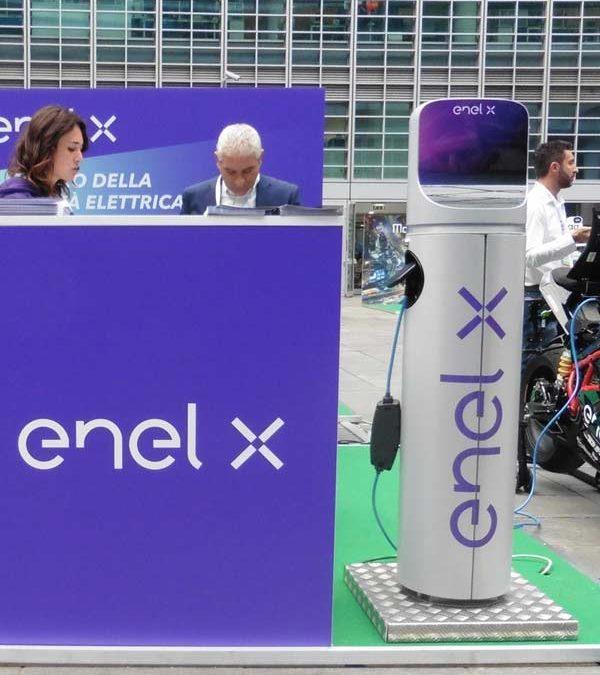 Enel X, più di mille prese per la Sardegna
