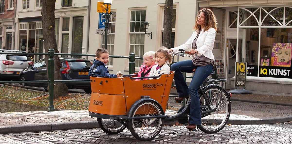 Cargo e-bike Babboe