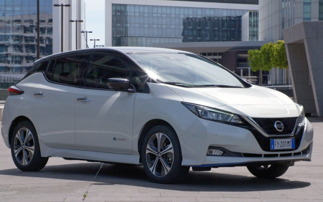 Nissan Leaf: 100% elettrica zero emissioni, zero rumore, sempre in movimento