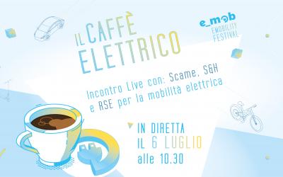 Segna la data: Caffè Elettrico con Scame, S&H ed RSE