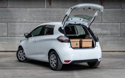 Nuova Renault Zoe Van: spazio di carico e 395 km di autonomia WLTP per una logistica versatile a zero emissioni