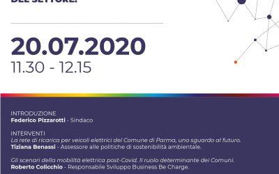 Save the date: conferenza stampa del Comune di Parma sulla mobilità elettrica