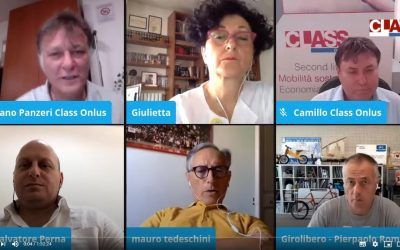 Caffè Elettrico con Fiab, Girolibero, Mobilità Elettrica Roma, Vaielettrico.it – 20 luglio 2020