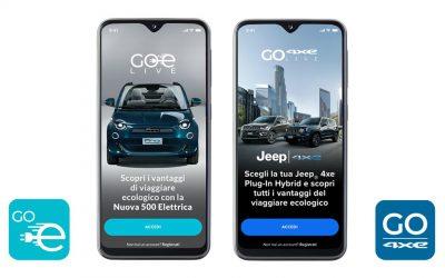 """e-Mobility lancia le nuove app """"GOe"""" che simulano l'uso delle nuove vetture elettriche e ibride della gamma FCA"""