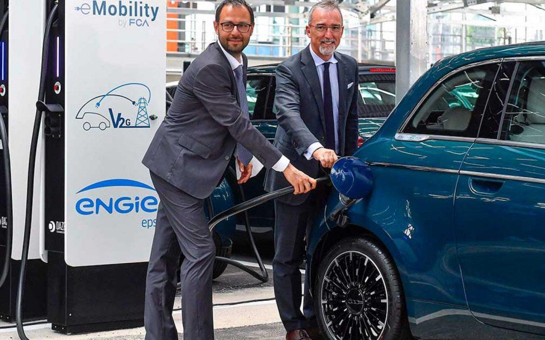 Inaugurato a Mirafiori il progetto pilota Vehicle-to-Grid