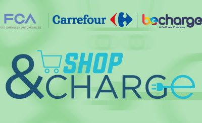 Conferenza stampa Progetto SHOP&CHARGE