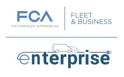 """Con Enel X e NewMotion, FCA Italy lancia """"e-nterprise"""", il programma di mobilità elettrica per le aziende"""