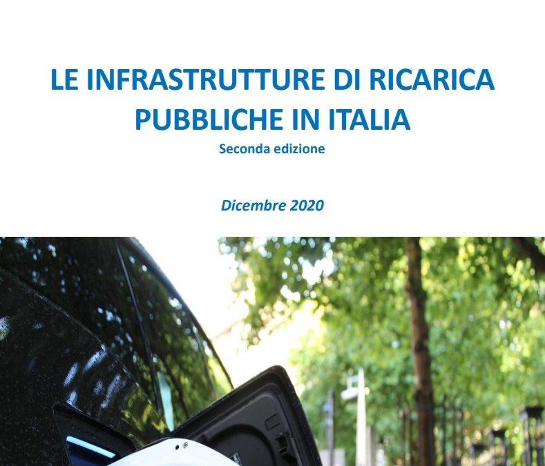 Le infrastrutture di ricarica pubbliche in Italia – report di Motus-E