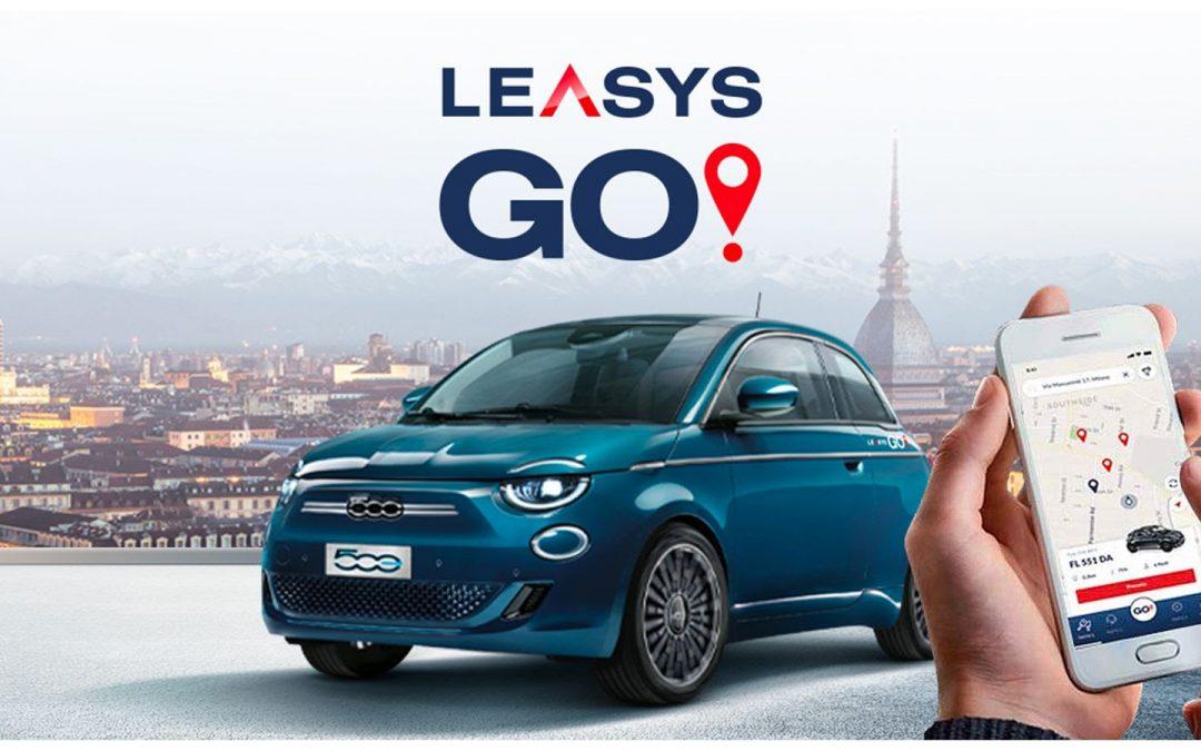 LeasysGO! apre al pubblico: inaugurato a Torino il primo car sharing dedicato alla Nuova 500