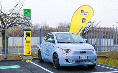 La Nuova 500 è il modello di punta dell'ecosistema elettrico di Europ Assistance