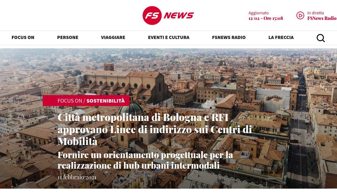 Città metropolitana di Bologna e RFI approvano Linee di indirizzo sui Centri di Mobilità