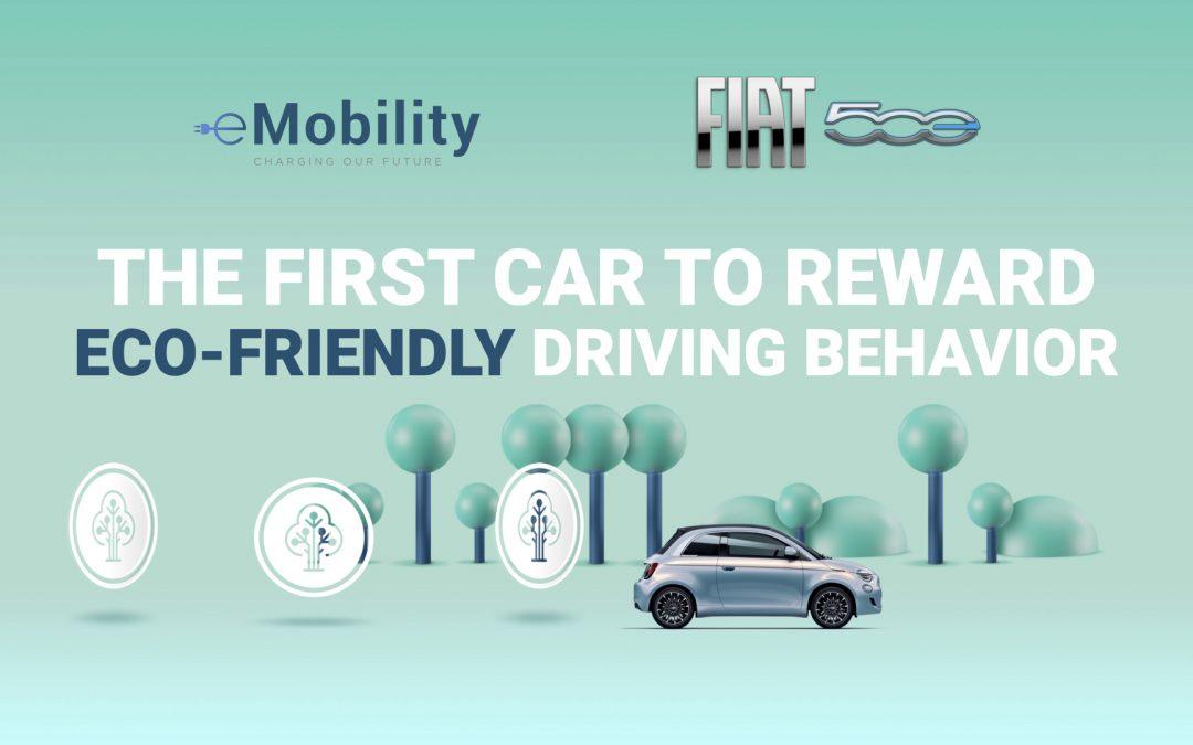 e-Mobility di Stellantis presenta con Kiri Technologies l'innovativo programma che premia la guida sostenibile, dedicato in esclusiva ai clienti di Nuova 500