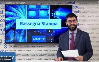 Cobat TV – Rassegna stampa 4 marzo 2021