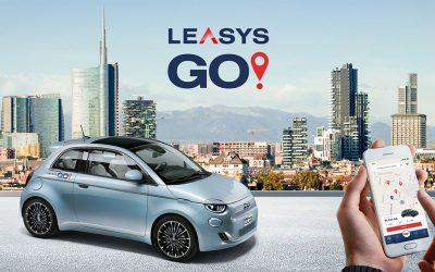 In arrivo a Milano LeasysGO!, il primo car sharing dedicato alla Nuova 500