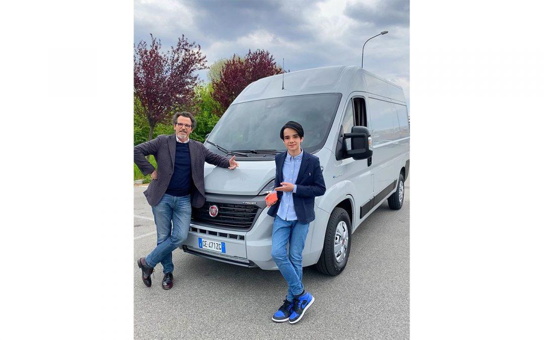 """Fiat Professional nuovamente insieme a """"Il Milanese Imbruttito"""" per il lancio dell'E-Ducato"""