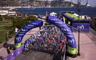 Enel X: il Giro d'Italia si tinge di viola