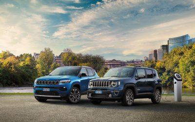 Jeep® Compass e Renegade 4xe: le plug-in hybrid più vendute in Italia