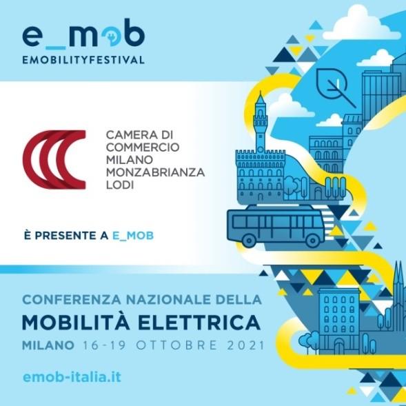 Mobilità sostenibile: la Camera di commercio di Milano Monza Brianza Lodi tra i promotori di e_mob 2021